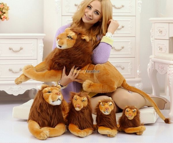 Fancytrader Rare Item! 49\'\' 125cm Emulational Plush Jumbo Soft Stuffed The Lion King Simba, Free Shipping FT50176 (6)
