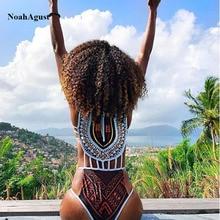 High Leg South African Bathing Suit Women 2017 Vintage Trikini Swimwear Female Sexy One Piece Swim Suit Thong Swimsuit Bodysuit