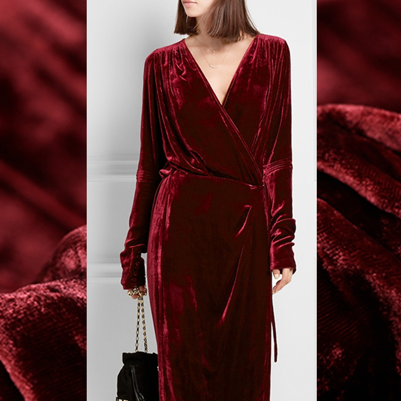 limited hot sale 2016 autumn winter thicken fashion silk natural velvet fabric for dress pure. Black Bedroom Furniture Sets. Home Design Ideas