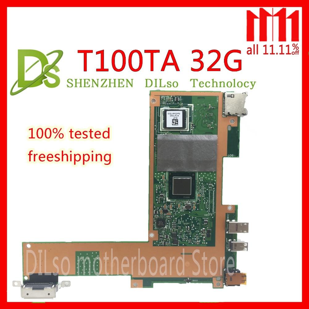 KEFU T100TA For ASUS T100TA 32G SSD laptop motherboard REV2.0 Test work 100% original KEFU T100TA For ASUS T100TA 32G SSD laptop motherboard REV2.0 Test work 100% original