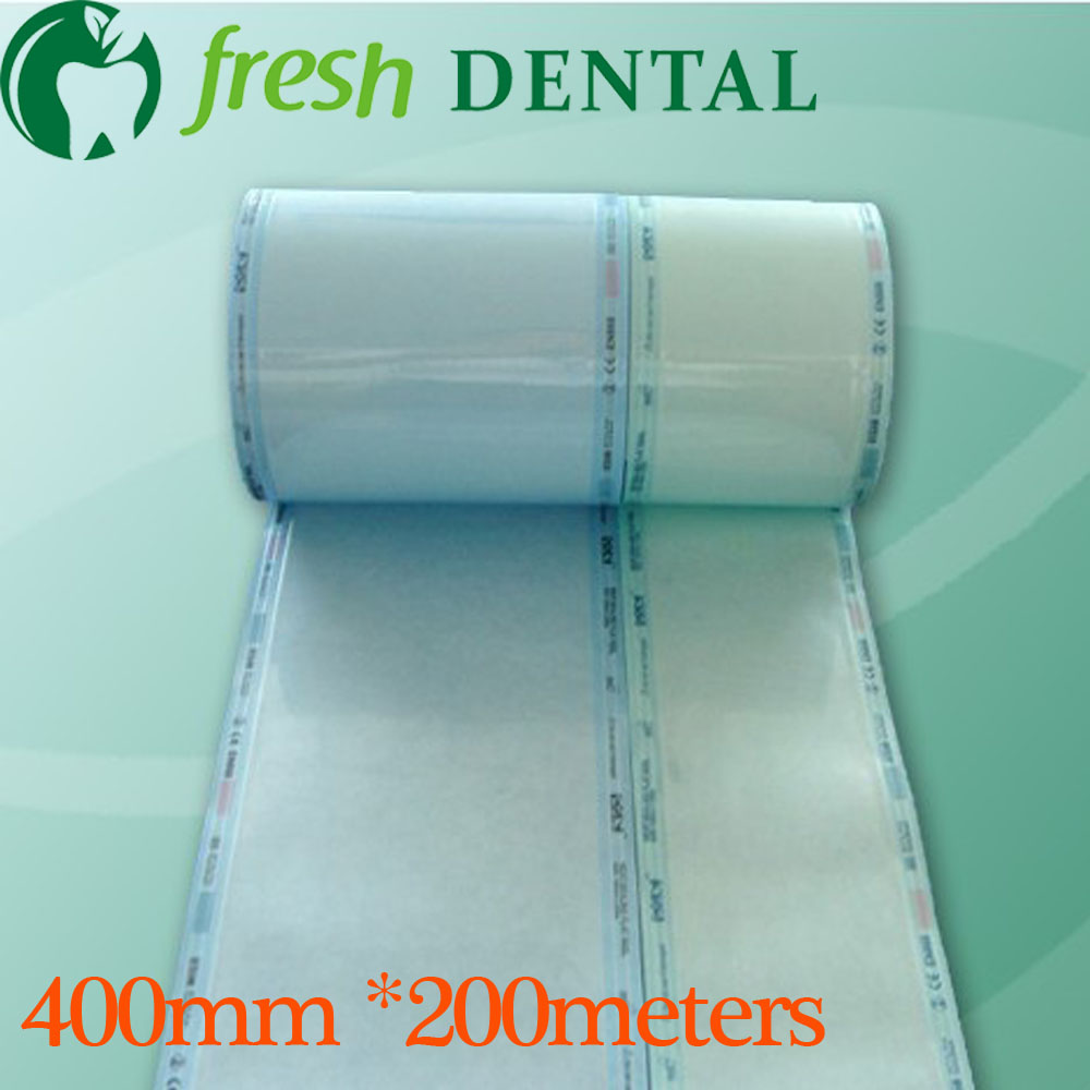 Dental 40cm*200M disinfection sterilization bags roll bags of sterile medical sterilization bags dental roll oral SL429 dental sterilization box for gutta percha root canal file high speed bur disinfection box dental tool box disinfection box sl308