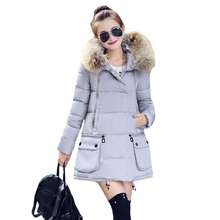 Tengo New Women s Cotton Winter Coat Thick Padded Long Outwear Jacket