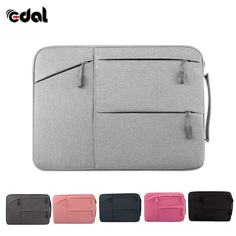 Laptop Bags Waterproof Cases For MacBook Xiaomi Notebook Nylon Sleeve Unisex