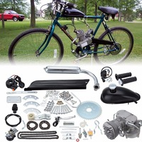 (Ship from Germany) 80cc 2 Stroke Petrol Gas Engine Motor Bicycle Kit Bike Petrol Engine Air Cooling