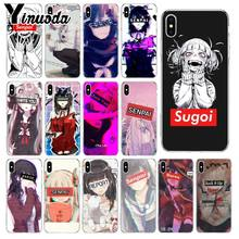 Sugoi Yinuoda Senpai Erro waifu Unique Luxury Design Tampa Do Telefone para o iPhone Da Apple 8 7 6 6 S Plus X XS MAX 5 5S SE XR Tampa(China)
