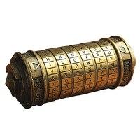 Wedding Present Gift Da Vinci Cylinder Code Lock Ring Lover Boyfriend Girlfriend Birthday Valentine S Day