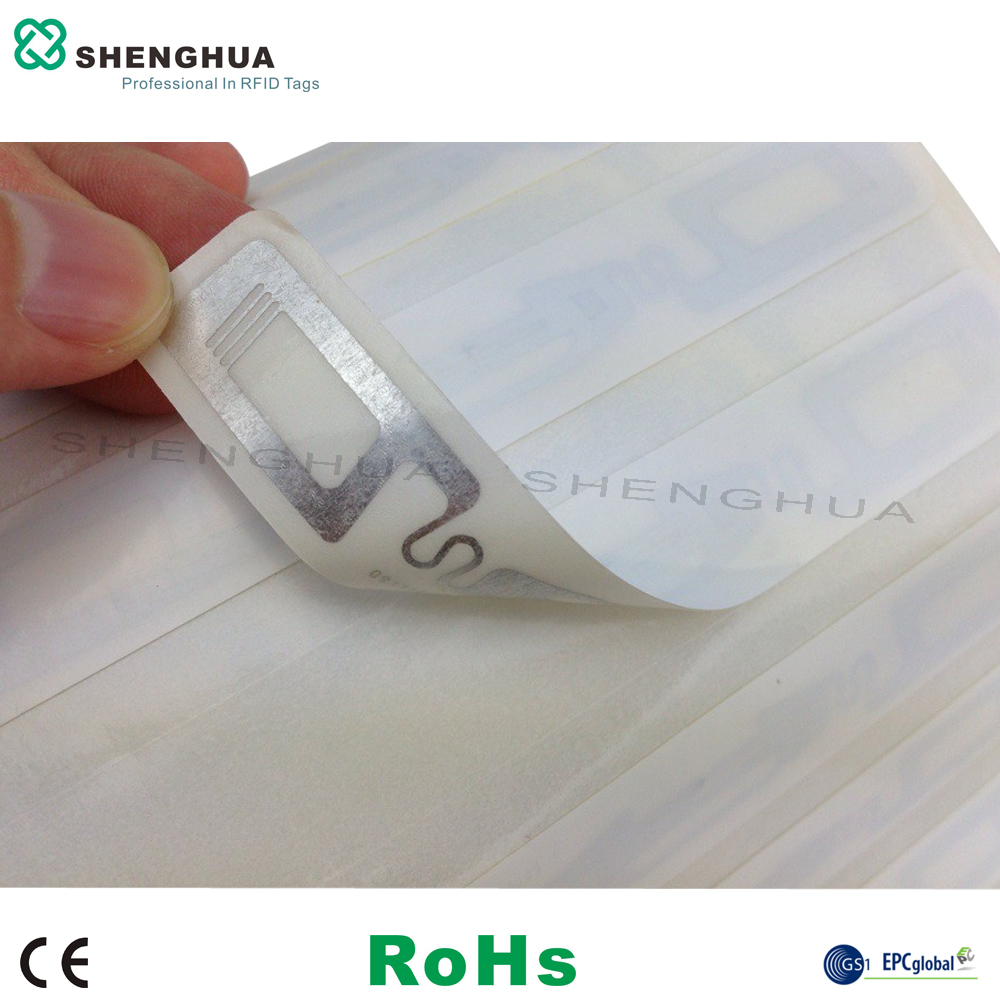 10pcs/pack 806mhz 915mhz 860-960mhz UHF RFID Tag Alien Chip Smart RFID Passive Sticker EPC GEN2 ISO Standard RFID Tag 98*16mm