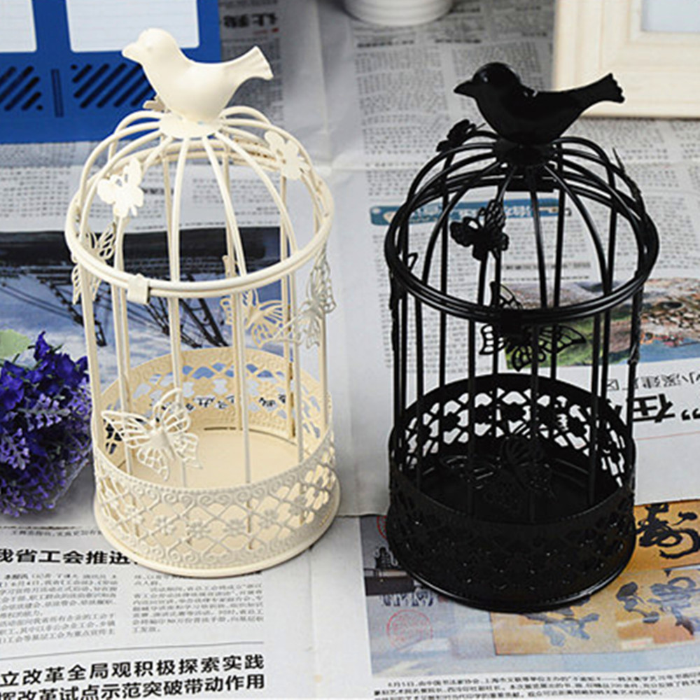 Vintage Home Sweet Home Decoration Accessories Cheap Metal Lantern Candle  Holders,black And White Tabletop