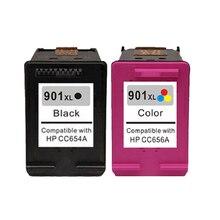 Для HP 901 901XL Картридж с чернилами для HP901 XL Officejet 4500 J4580 J4550 J4540 J4680 J4524 J4535 J4585 J4624 J4660