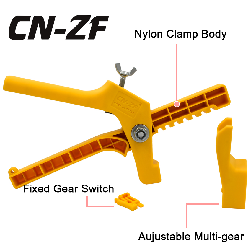 1 Tile Leveling Nylon Pliers CN-ZF Installation Ceramic System Flat Hand Tool Tiling Floor Wall Locator Flooring For level Tiles