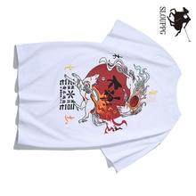 2019 NEW FASHION T-shirt Harajuku Original Printed Men Women Hip Hop Streetwear tshirt Chinese style Cotton black white