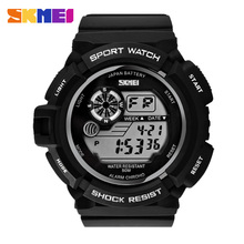 S-SHOCK MEN'S ARMY 50AMT Impermeable DE CAUCHO led digital DEPORTES RELOJ de PULSERA Digital