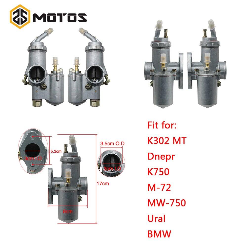 Carburateur de moto ZS MOTOS CJ750 PZ28 carburateur pour BMW R50 R60 R12 KC750, R1, R71, M72 KC750 K750 pièces de moto