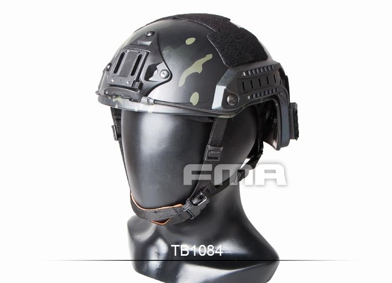 FMA maritime Helmet MultiCam Black TB1084 fma maritime tactical helmet 1 1 aramid fiber version helmet fg m l