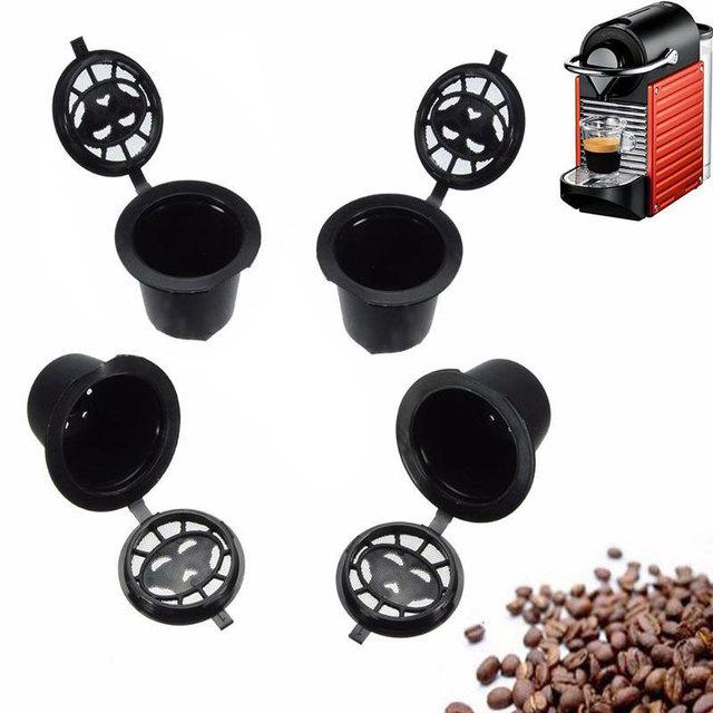 4 Pcs Black Filter Cup