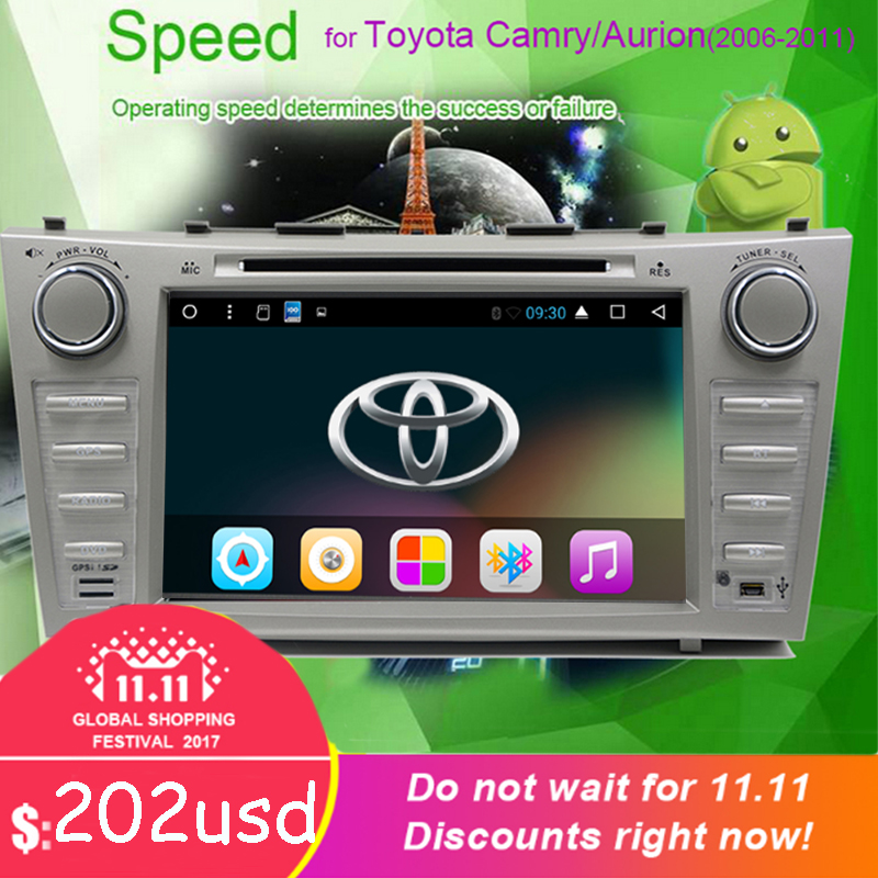 Android 6 0 car DVD player for Tofyota Camry 2006 2007 2008 2009 2011 Car DVD