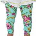 Novas INS vendas quentes do bebê Leggings calças do bebê outono e inverno crianças flores calças