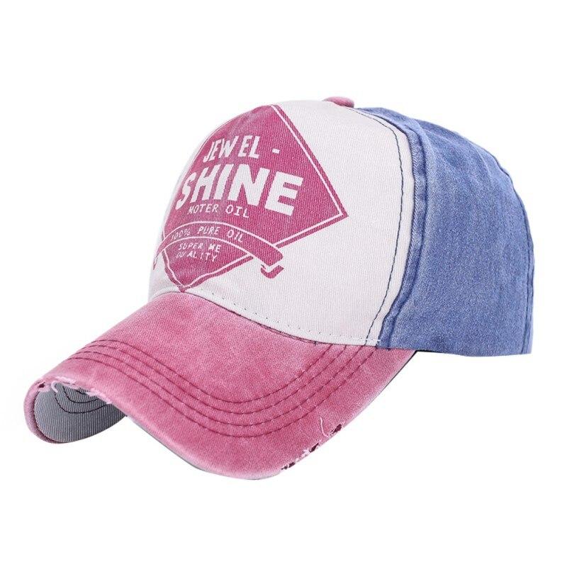 Cool Summer Patchwork Baseball Cap Women Trendy Trucker Golf Sport Sun Hats