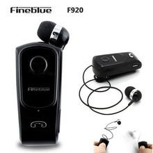 Wireless FineBlue F920 Auriculares Driver Oreillette Bluetooth Headset Calls Remind Vibration Wear Clip Sports Running Earphone