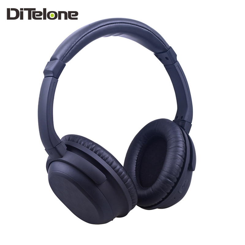 ФОТО TechCool BH519 Headphones Noise Cancelling Bluetooth Headbands Music Earphone Excellent Bass Sound For PC Mobile MP3