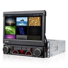Reproductor de Dvd del coche 7 pulgadas 2 Din Android6.0.1 Audio Estéreo De Navegación Gps Universal Volante Grabadora de Radio Wifi mapa 1 GB