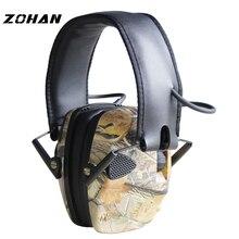 ZOHAN электронный противошумный наушник NRR 22DB тактический охотничий беруши Электроника защита стрельба наушники тактические беруши стрелять