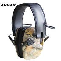 ZOHAN antibruit électronique NRR 22DB tactique chasse bouchons d'oreille Protection électronique tir cache-oreilles tactique bouchons d'oreille tirer
