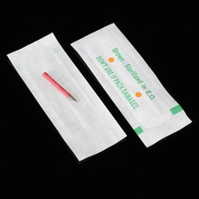 10pcs Permanent Makeup Fog Eyebrow Tattoo 19 Bevel Round Needles Microblading Needle 3D Embroidery Tool For Beauty Tebori