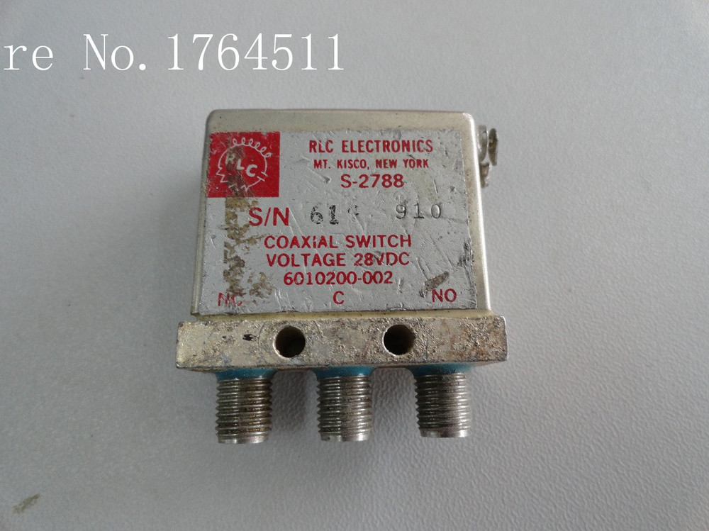 [BELLA] Supply RLC S-2788 SPDT DC-18GHZ 28V[BELLA] Supply RLC S-2788 SPDT DC-18GHZ 28V