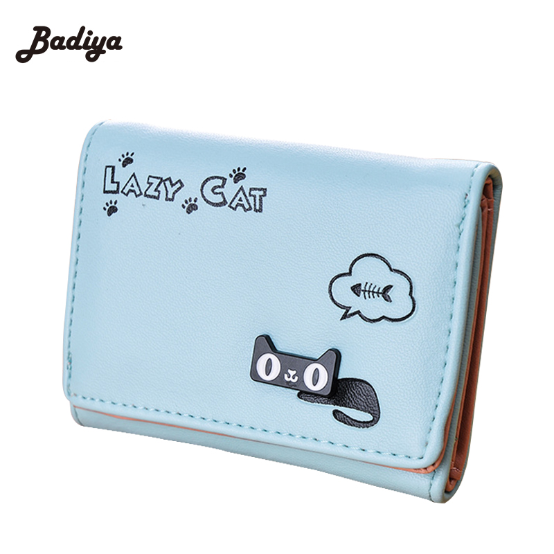 3 Fold Wallet PU Leather Girls Boys Cute Zipper Purses Wallets Multi Function Card Holders Korean Style Money Bags virgo august 24 to september 23 constellations tri fold short pu wallet zipper money coin card holder girl boys birthday gifts