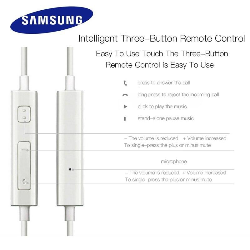 SAMSUNG Auricular original EHS64 con cable de 3,5 mm en la oreja con micrófono para Samsung Galaxy S8 S8Edge Certificación oficial de soporte 2