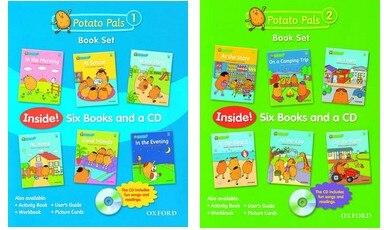 not cloth book   original English  p otato p al set 1 set 2   series  12pcs/set