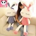 HOT! 65CM Love rabbit doll plush toy pillow rabbit cloth doll dolls birthday gift girls present free shipping