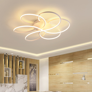 Image 4 - מודרני נברשת תאורה לסלון Luminarine avize ברק דה plafond moderne 90 265V ברק שינה תקרת נברשת