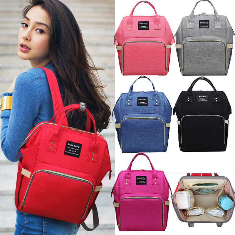 Fashion Mummy Maternity Nappy Bag Mommy Diaper Bag Large Capacity Baby Travel Backpack Designer Nursing Bag For Baby Care!
