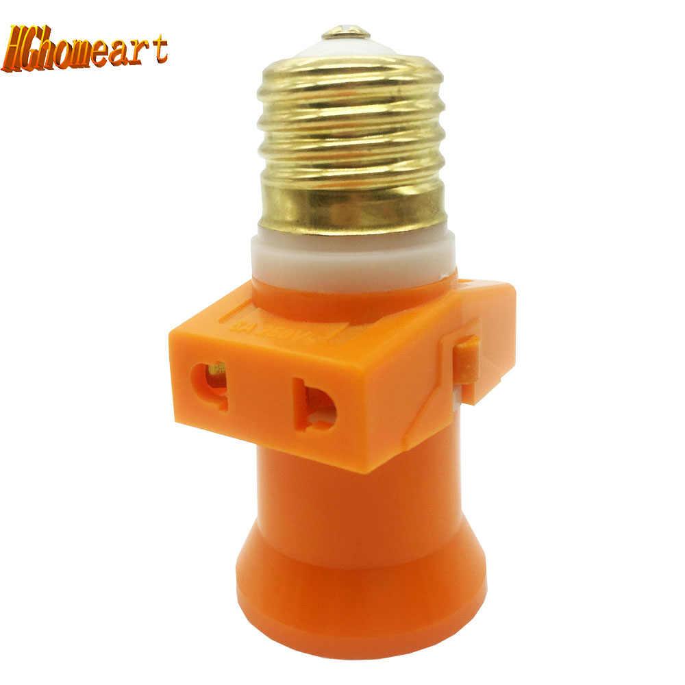 100% Pure Copper Lamp Socket E27 Lamp Base 110-220V Led E27 Bulb Adapter Ceiling Light Metal Lamp Holder E27 Pendente Switch