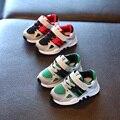 Nueva primavera de cuero niña sola shoes 1-3 años de edad del niño del bebé deportes shoes