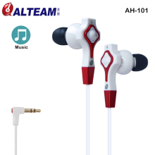 Special Unique Fancy Stylish Design Clear Sound HDSS HD Music Tangle Free MP3 MP4 Player 3.5mm In-Ear Earphone with Gift Box