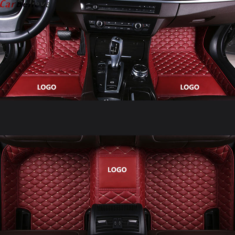 Car-Floor-Mats Carpet-Rug B7-Accessories Avant Audi A3 2007 Sportback for Tt Mk1 A4 B8 title=