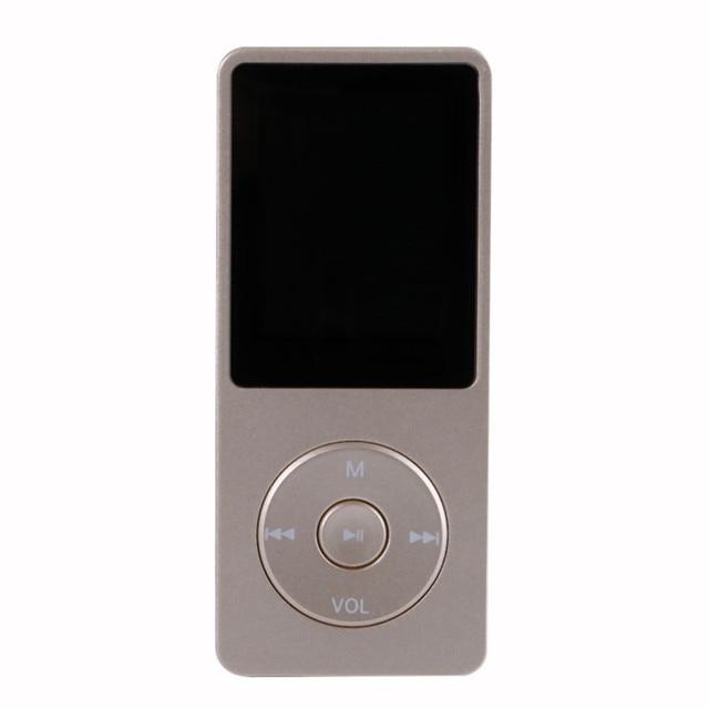 1.8 Pulgadas de Pantalla Reproductor de MP3 Larga StandbyTime 4 GB Con FM E-Book Alare Datos Del Reloj 8 Colores