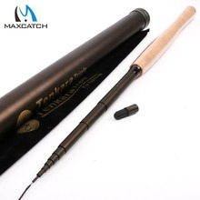"Maximumcatch New Arrival Tenkara Fly Fishing Rod Triple zoom Rod (10'8″, 11'10"", 12'9″) & Line Combo Tenkara Telescope Rod Combo"