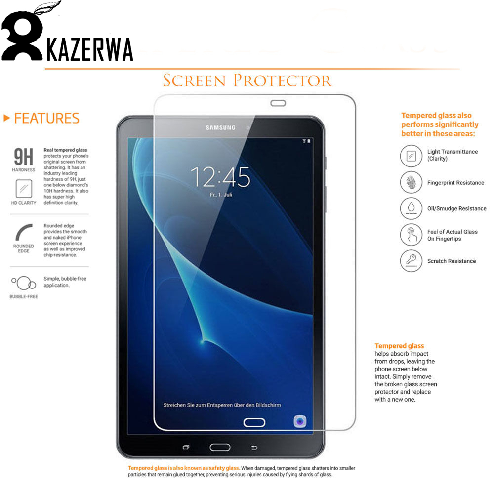 9H Tempered Glass For Samsung Galaxy Tab A A6 10.1 SM-T580/T585N Screen Protector for Samsung Galaxy Tab A (2016) 10.1