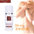 Arsychll blanqueamiento loción corporal crema corrector después del sol protector solar medias de seda del cuerpo cuidado de la piel crema para blanquear envío gratis