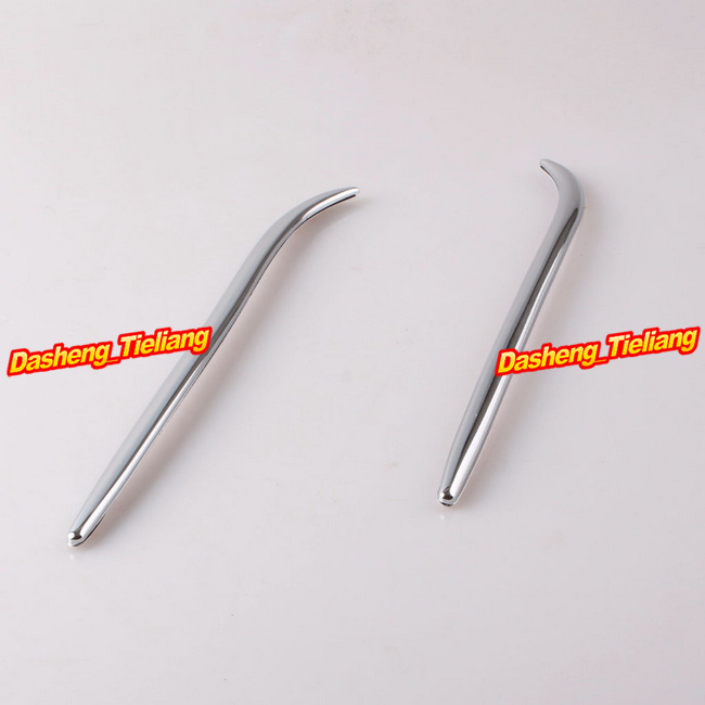 High Quality Fairing Eyebrows Trim For Honda Goldwing GL1800 2001-2011 Decoration Bokykits Parts Accessories Chrome Brand New high quality chrome rear trunk streamer for honda jazz fit 09 up free shipping brand new