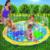 Novo 100 cm Crianças Pagar Água Infaltble das Crianças Brinquedos Ao Ar Livre Da Praia do Verão Brinquedo Almofada Game Pad Tapete de Aspersão Gramado para As Crianças