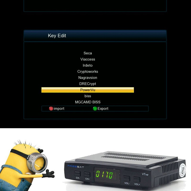 1 Year Europe clines server Freeset V7 HD DVB-S2 Satellite Receiver Support  Power Vu Biss Key Ccan + 1PC Usb Wifi Europa Server