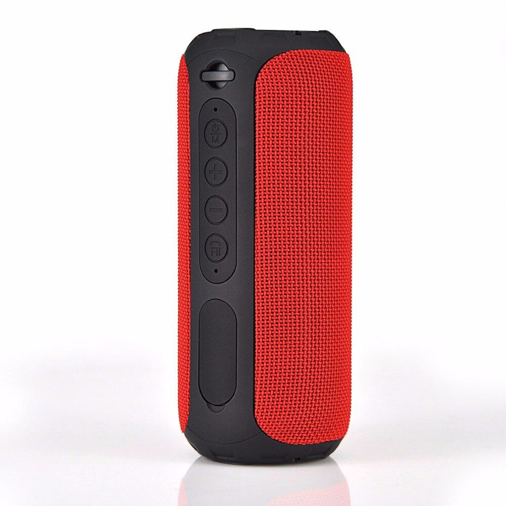 Altavoz inalámbrico portátil Rojo Impermeable IPX6 Al aire libre - Audio y video portátil - foto 3