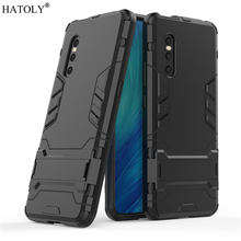 Cover Vivo X27 Case Rubber Robot Armor PC Shell Protective Hard Back for Phone