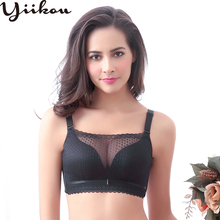 Women gather no rims tube top lace adjustment bra Sexy underwear