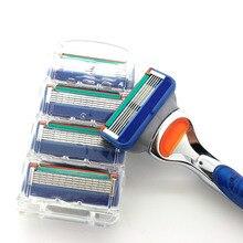 Rasoir fushion proglide бритвенных начальник лезвий слоев стандартный бритья бритвы лезвия